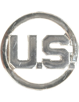 Enlisted U.S. Letters with Circle No Shine