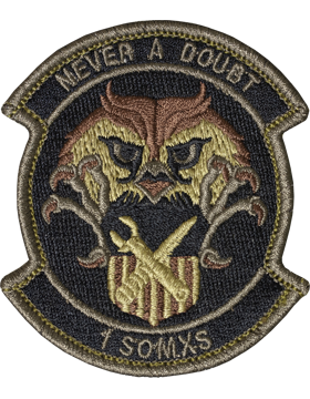 OCP 1ST SPECIAL OPERATIONS MAINTENANCE SQUADRON VELCRO