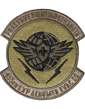 OCP 455TH EXP AEROMED EVAC SQUADRON VELCRO