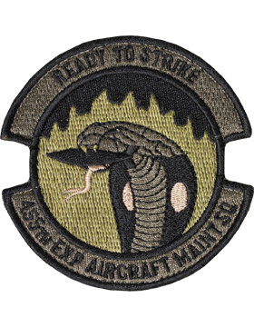 OCP 455TH EXPEDITIONARY AIRCRAFT MAINTENANCE SQUADRON VELCRO
