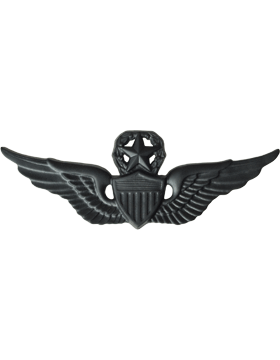 BLACK MASTER AVIATOR PIN