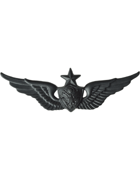 BLACK SENIOR AIRCRAFT CREWMAN PIN