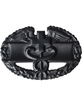 BLACK COMBAT MEDICAL PIN