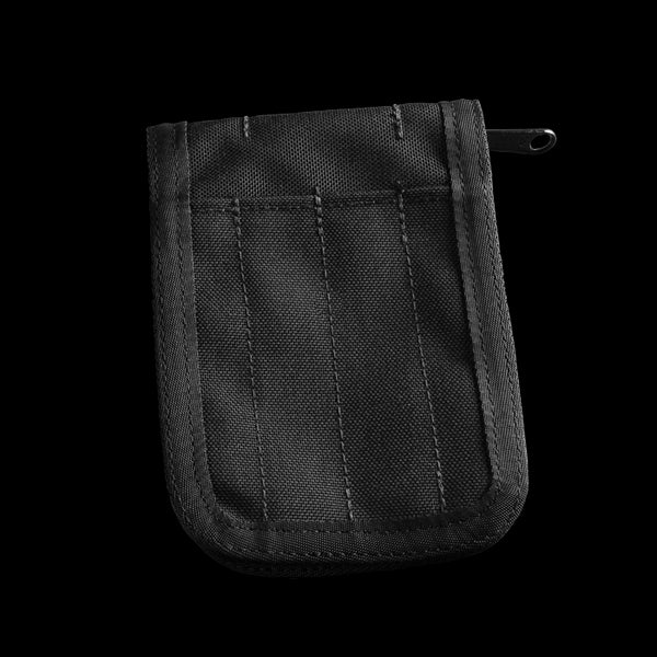 BLACK POCKET NOTEBOOK COVER