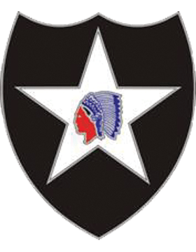 2nd Infantry Div Unit Identification Badge