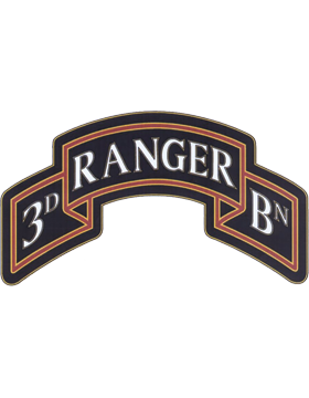 3d 75 Ranger Regt Unit Identification Badge Pin