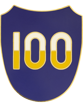 100th Training Division Combat Service Identification Badge