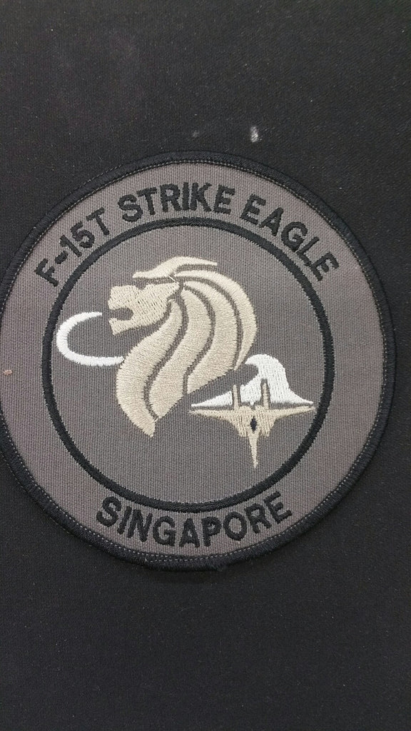 F-15T STRIKE EAGLE SINGAPORE PATCH