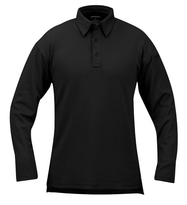 Black Propper I.C.E.™ Men's Performance Polo – Long Sleeve