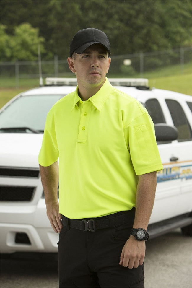 Black Propper I.C.E.™ Men's Performance Polo – Short Sleeve