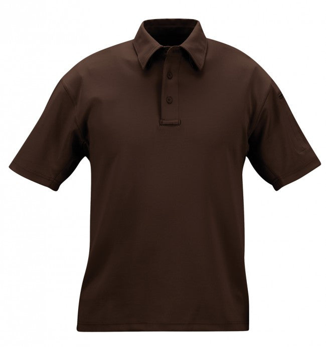 Brown Propper I.C.E.™ Men's Performance Polo – Short Sleeve