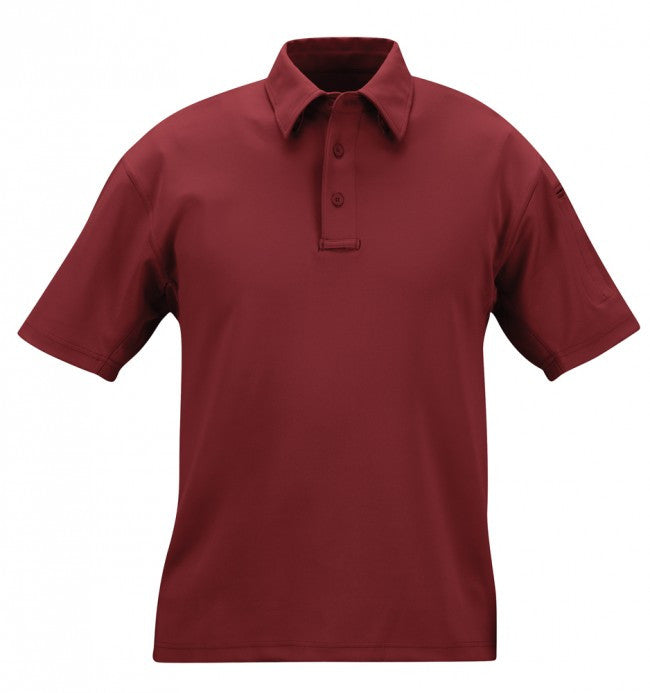 Burgundy Propper I.C.E.™ Men's Performance Polo – Short Sleeve