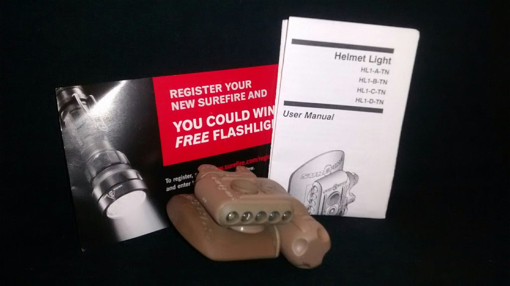 SURPLUS SUREFIRE HELMET LIGHT