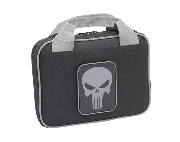 "11"" SOFT PISTOL CASE BLACK W/ PUNISHER PATCH"