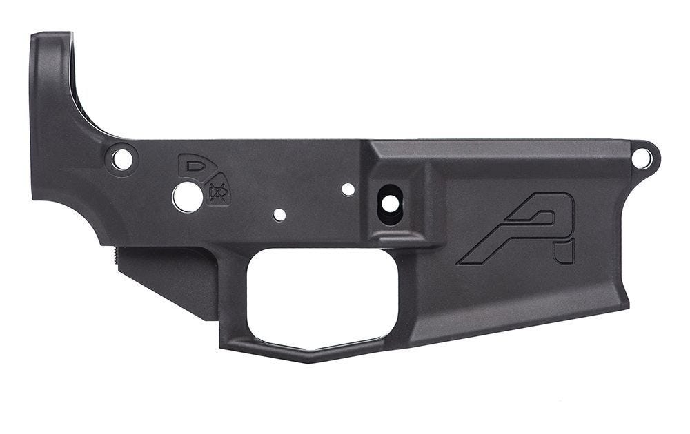 M4E1 Stripped Lower Receiver - Anodized Black