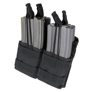 CONDOR MA43 Double Stacker Open-Top M4 Mag Pouch