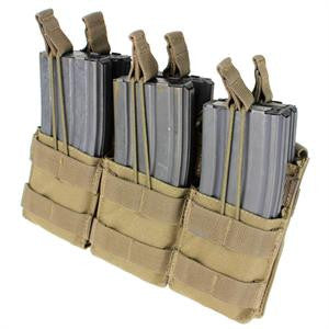 CONDOR MA44 Triple Stacker Open-Top M4 Mag Pouch