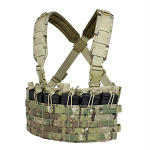 CONDOR MCR6-008 Rapid Assault Chest Rig with MultiCam®