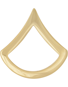 GOLD PRIVATE 1ST CLASS PIN