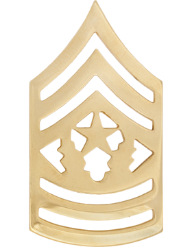 GOLD COMMAND SERGEANT MAJOR PIN
