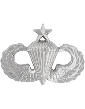 NO SHINE SENIOR PARACHUTIST PIN