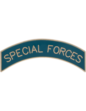 NO SHINE SPECIAL FORCES TAB PIN