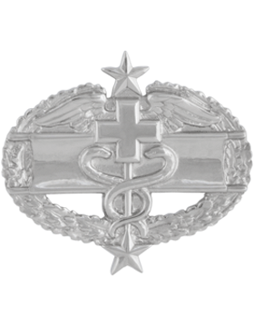 NO SHINE MINI COMBAT MEDICAL 3RD AWARD PIN
