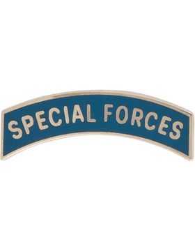 NO SHINE MINI SPECIAL FORCES TAB PIN