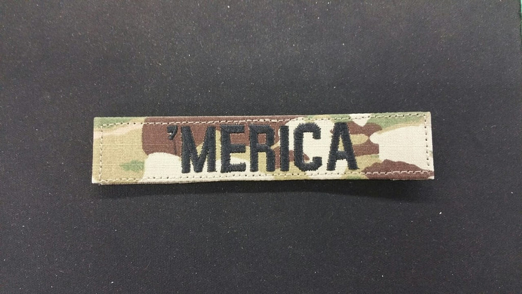 SCORPION / OCP 'MERICA TAPE WITH BLACK WRITHING & VELCRO