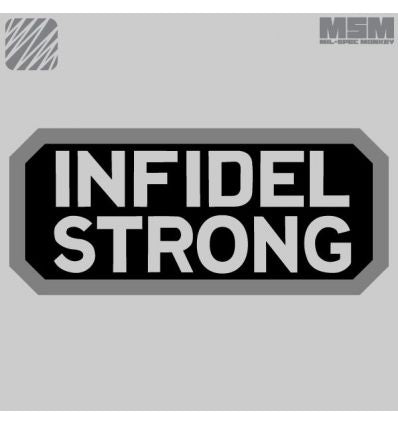 INFIDEL STRONG MORALE PATCH VELCRO