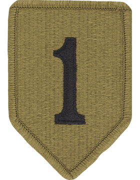SCORPION 1st INFANTRY DIVISION VELCRO PATCH