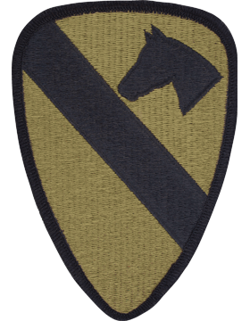 SCORPION 1st CAVALRY DIVISION VELCRO PATCH