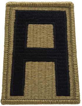 SCORPION 1st ARMY VELCRO PATCH
