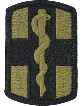 SCORPION 1st MEDICAL BRIGADE VELCRO PATCH