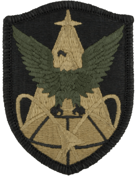 SCORPION 1st SPACE BRIGADE VELCRO PATCH