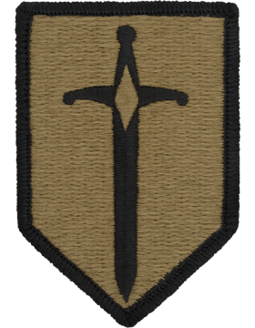 SCORPION 1st MANEUVER ENHANCE BRIGADE VELCRO PATCH