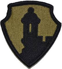 SCORPION 1st MISSION SOPPORT COMMAND VELCRO PATCH