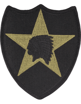 SCORPION 2nd INFANTRY DIVISION VELCRO PATCH