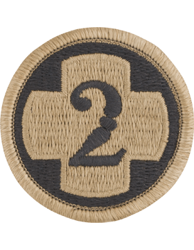 SCORPION 2nd MEDICAL BRIGADE VELCRO PATCH