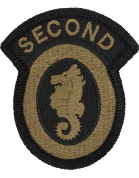 SCORPION 2nd ENGINEER BRIGADE VELCRO PATCH