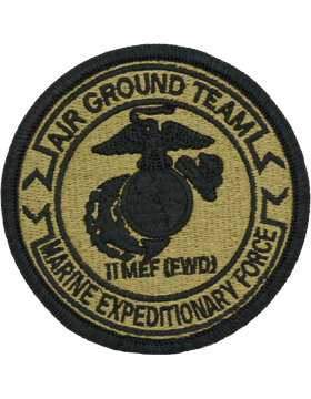 SCORPION 2nd MARINE EXPEDITIONARY FORCE DIVISION VELCRO PATCH