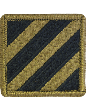 SCORPION 3rd INFANTRY DIVISION VELCRO PATCH