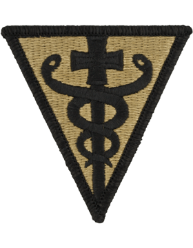 SCORPION 3rd MEDICAL COMMAND VELCRO PATCH