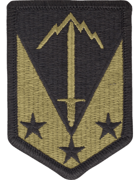SCORPION 3rd MANEUVER ENHANCEMENT BRIGADE VELCRO PATCH