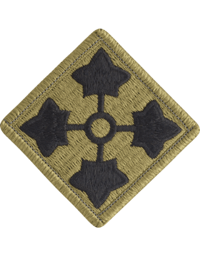 SCORPION 4th INFANTRY DIVISION VELCRO PATCH
