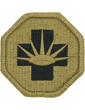 SCORPION 8th MEDICAL BRIGADE VELCRO PATCH
