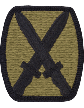 SCORPION 10th IMOUNTAIN NFANTRY DIVISION VELCRO PATCH