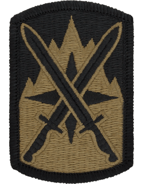 SCORPION 10th SUSTAINMENT BRIGADE VELCRO PATCH