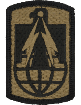 SCORPION 11th SIGAN LBRIGADE VELCRO PATCH