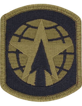 SCORPION 16th MILITARY POLICE BRIGADE VELCRO PATCH
